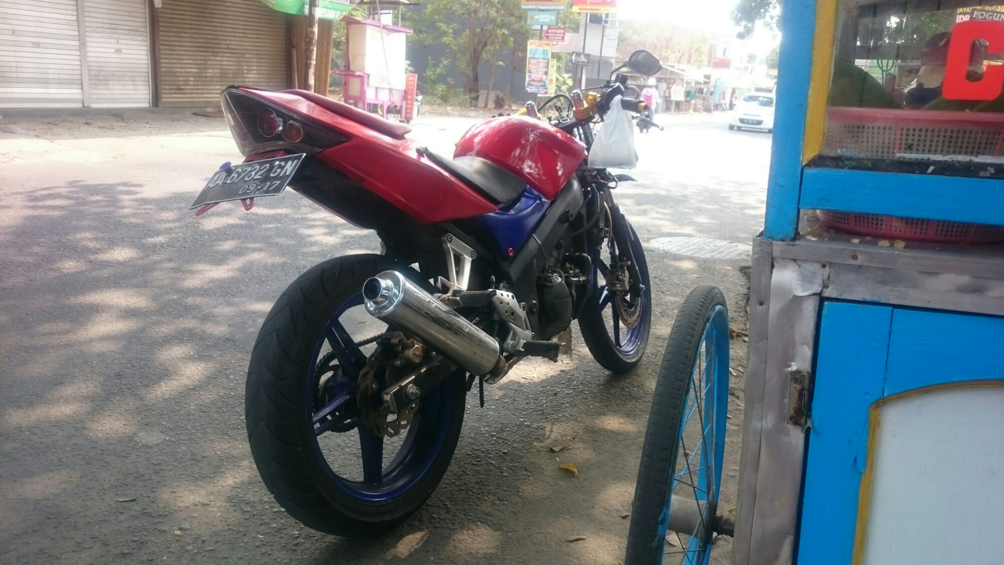Upgrade kaki honda cbr 150 old